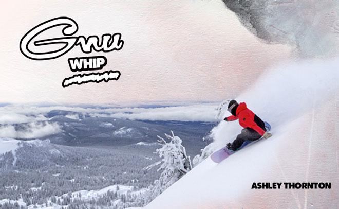 Gnu Whip Women's snowboard