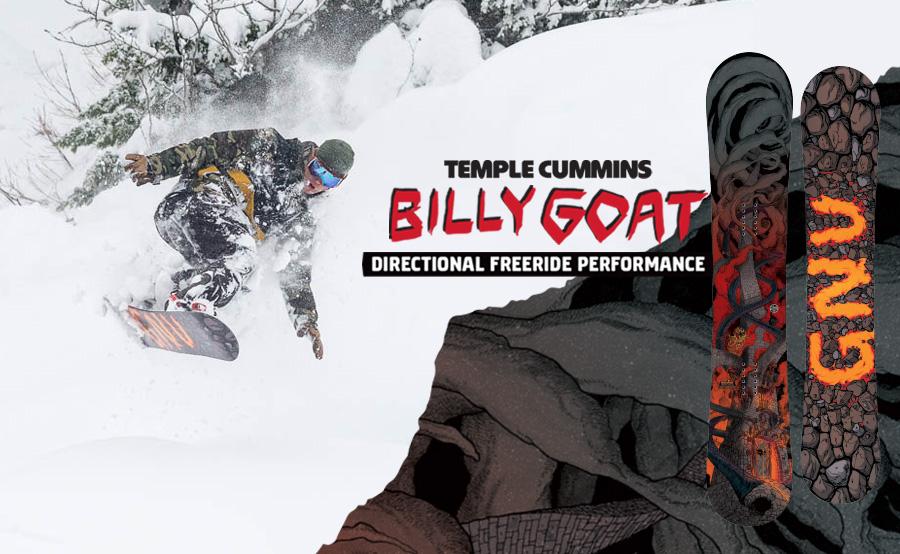 GNU Billy Goat Snowboard