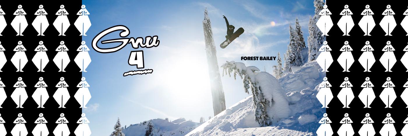 Gnu 4, Four Men's Snowboard