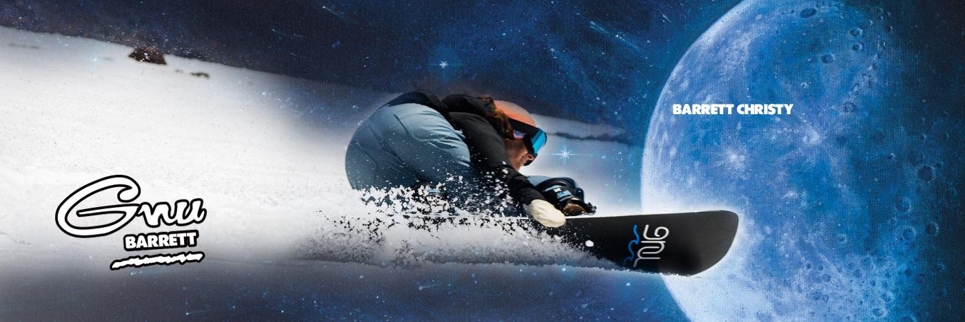 Gnu Barrett Women's Snowboard by Barrett Christy
