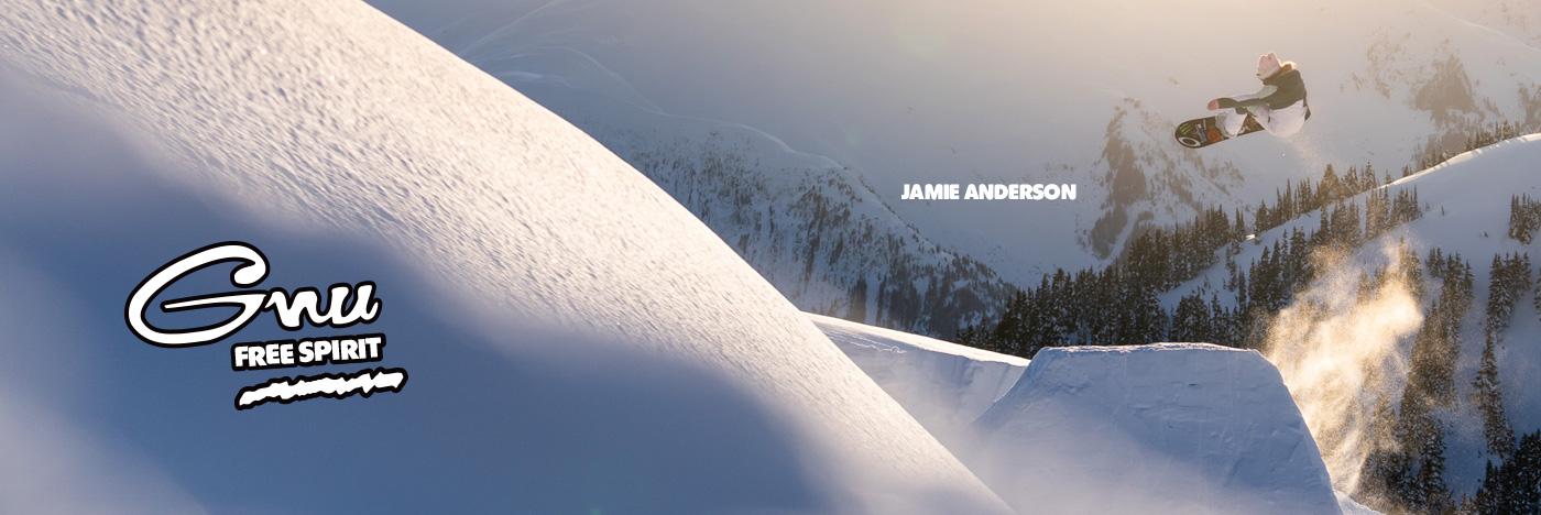Gnu Free Spirit Snowboard by Jamie Anderson
