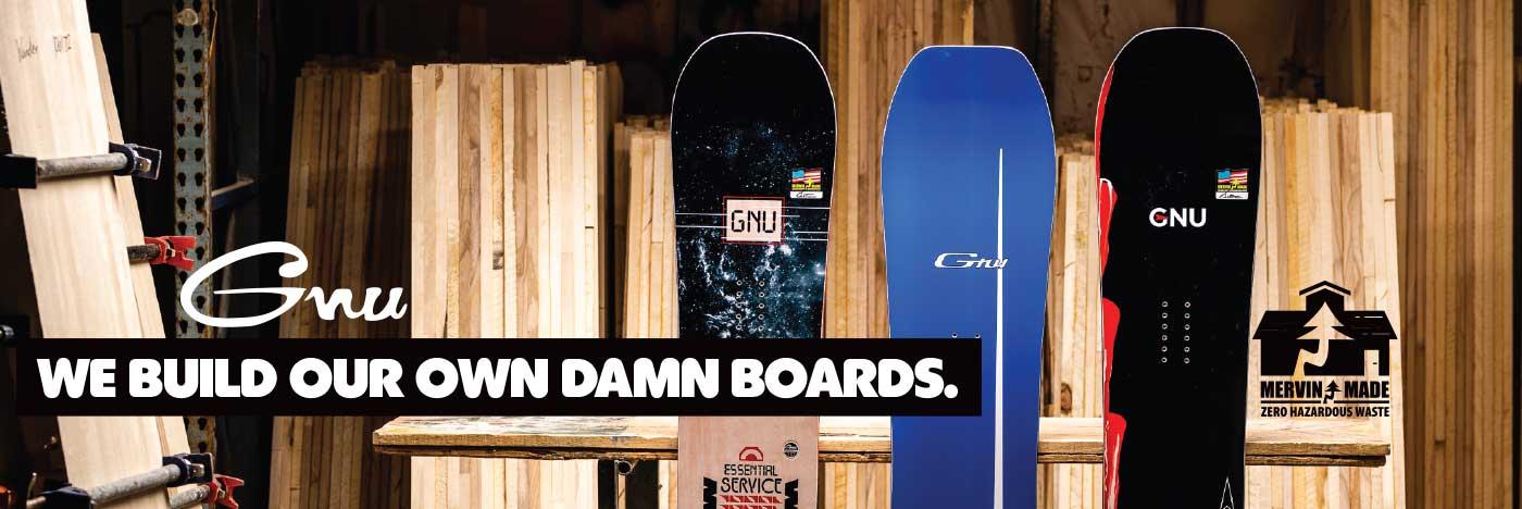 Shop GNU Snowboards 2021 - 2022