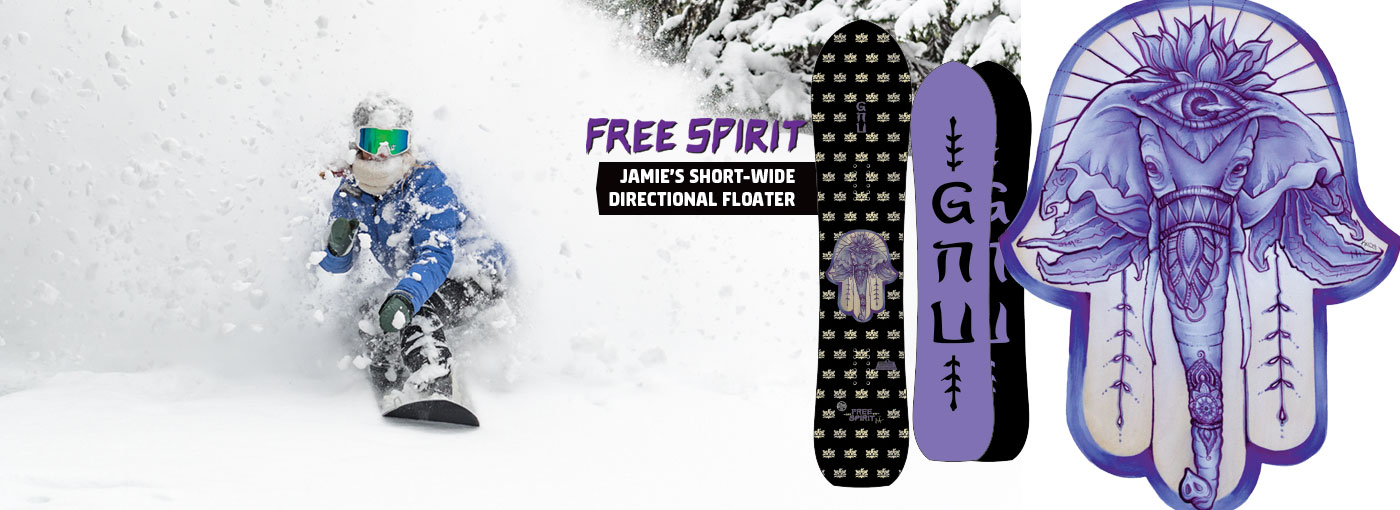 GNU Free Spirit Snowboard