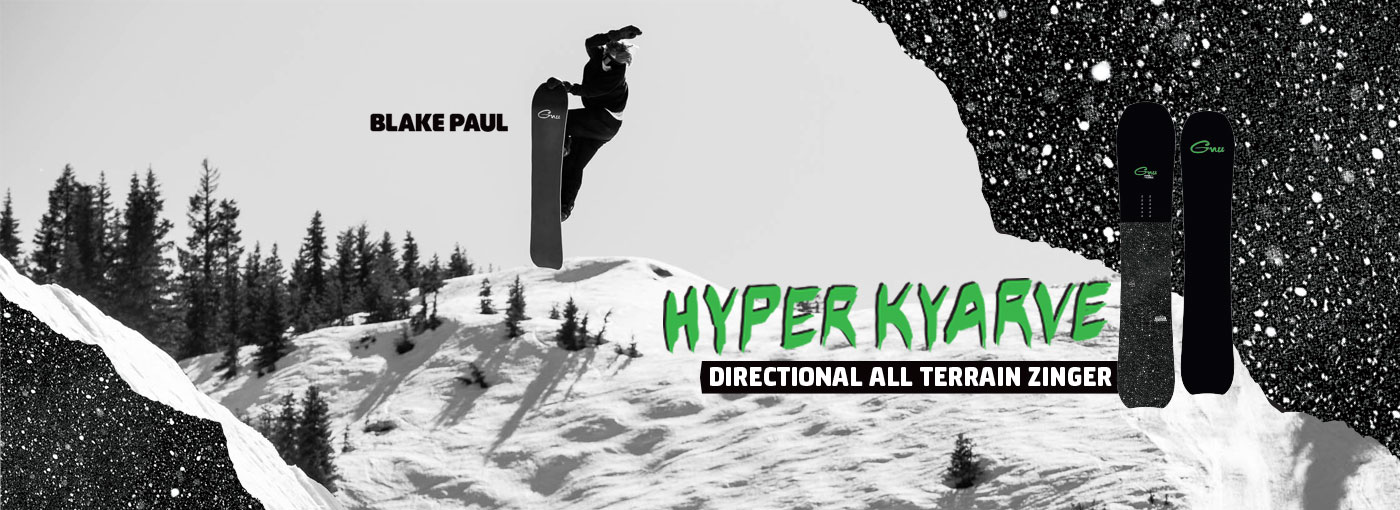 GNU Snowboards Hyper Kyarve