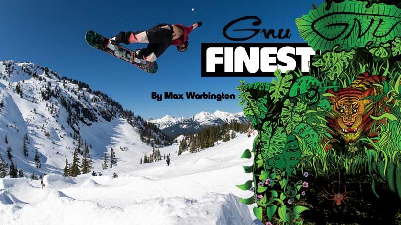 Shop GNU Finest Snowboard by Max Warbington