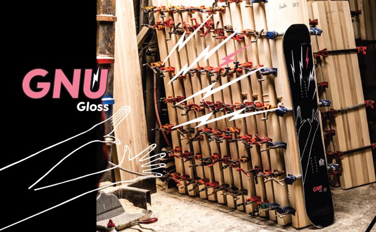 Gnu Gloss Women's snowboard