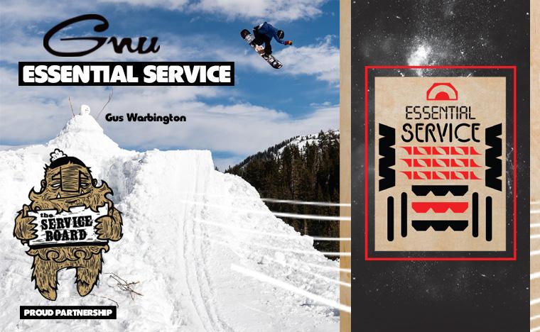 Gnu Essential Service Snowboard