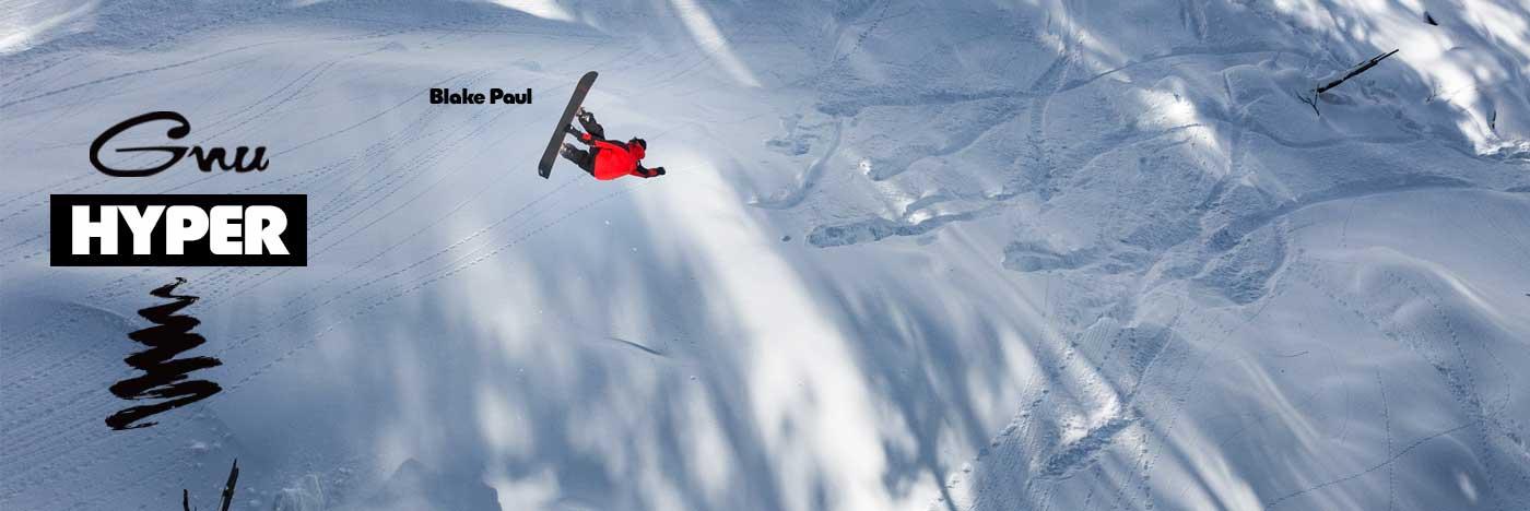 Gnu Hyper Snowboard by Blake Paul
