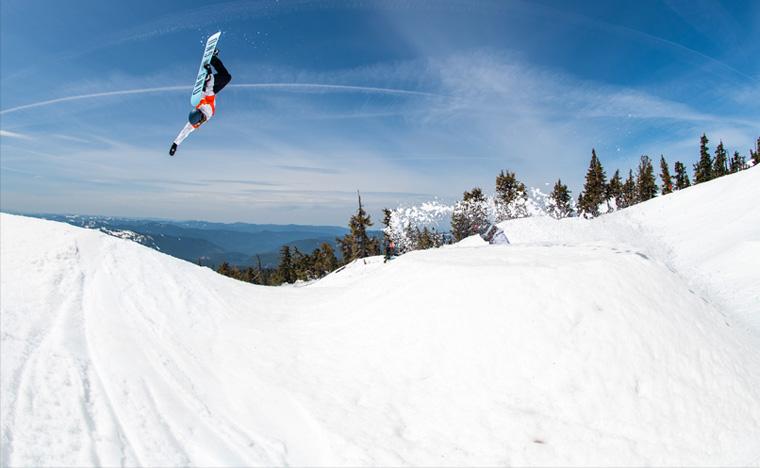 Gnu Snowboarding Team Ellie Weiler