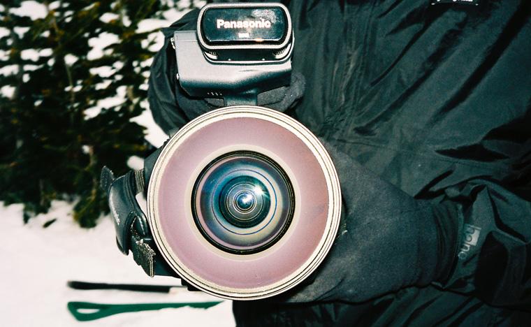 Gnu Snowboarding Team Camera Lens