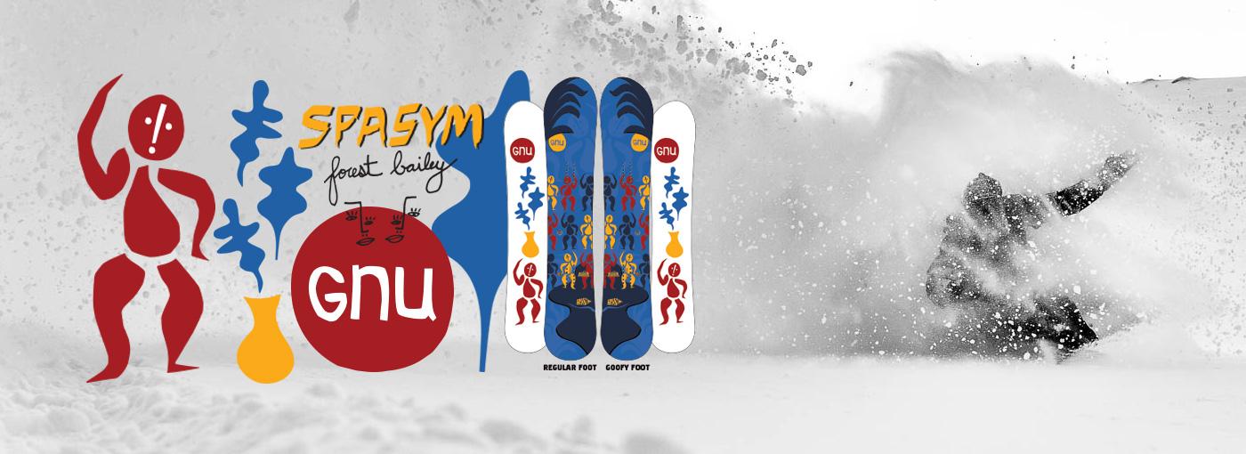 GNU Spasym Snowboard