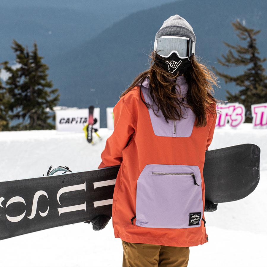 Gnu Snowboarding Team Barrett Christy