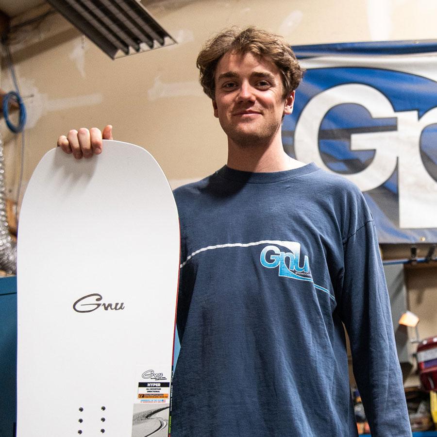Gnu Snowboarding Team Blake Paul