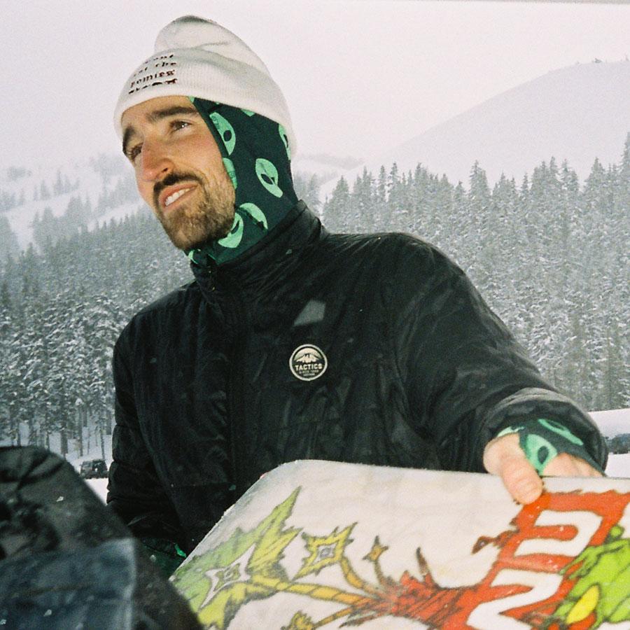 Gnu Snowboarding Team Max Warbington
