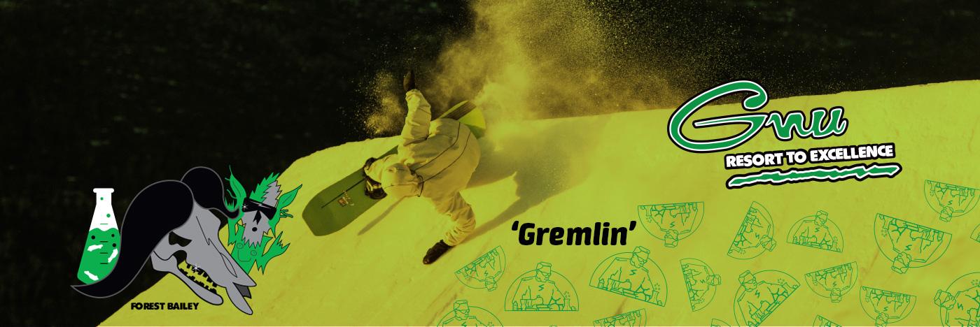 GNU Gremlin Mens Snowboard