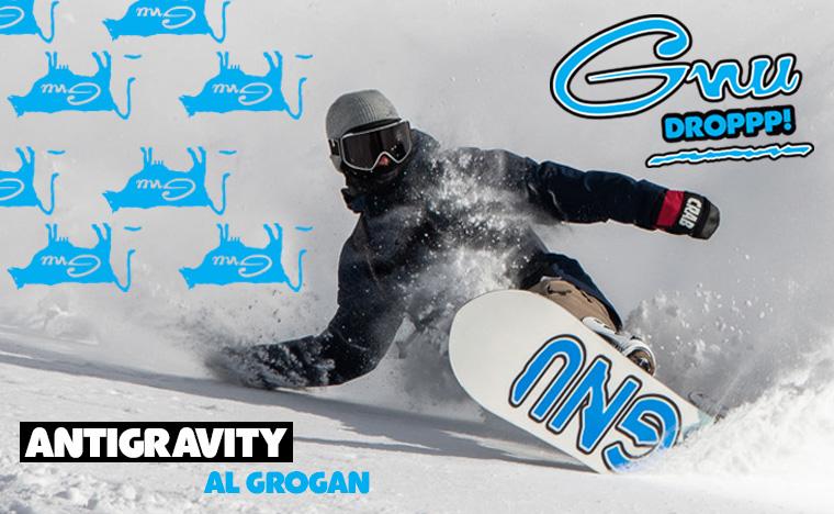 GNU Antigravity snowboard