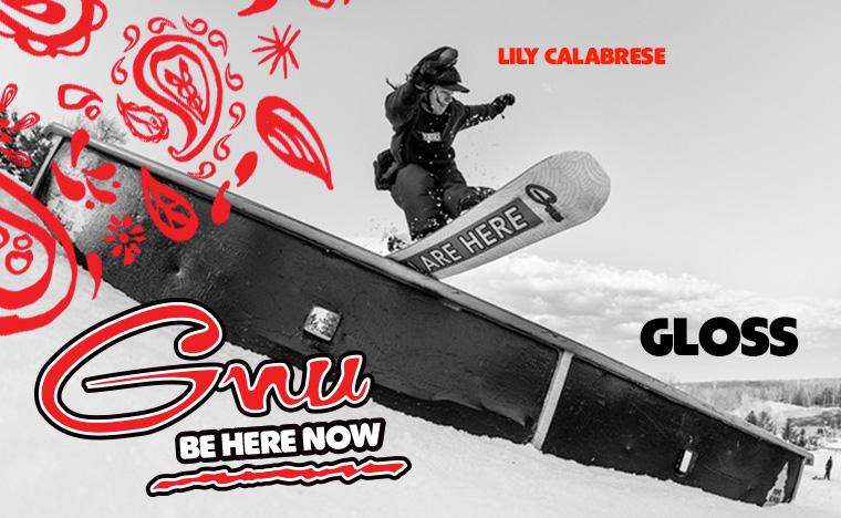 GNU Gloss Womens Snowboard