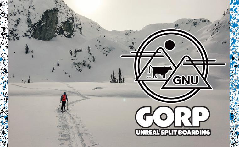 GNU Snowboards Gorp Splitboard