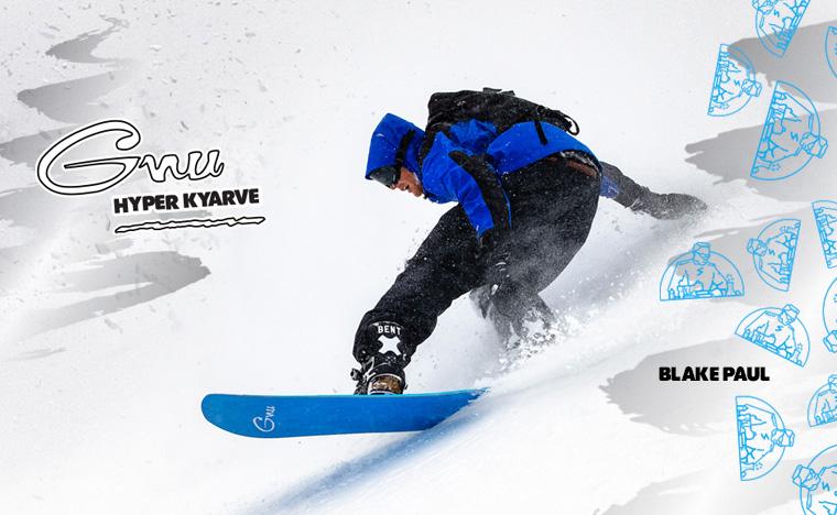 Gnu Hyper Kyarve Men's Snowboard