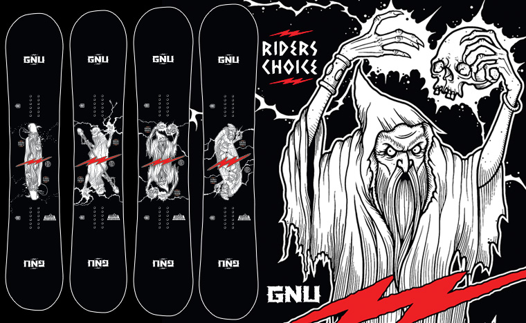 GNU Riders Choice Men's Snowboard