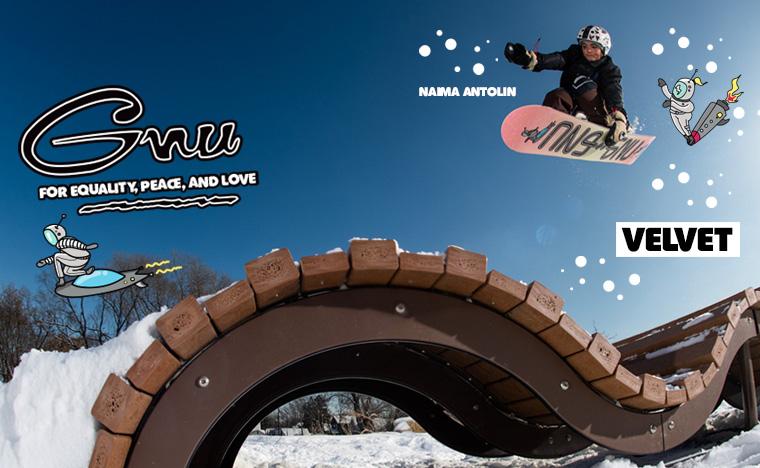 GNU Velvet women's snowboard